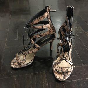 Nicholas Kirkwood 37.5 Snake Skin Heel